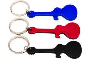 Schlüsselanhänger in Gitarren-Form zum Gravieren