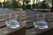Whiskeyglas mit Gravur (Beispiel)