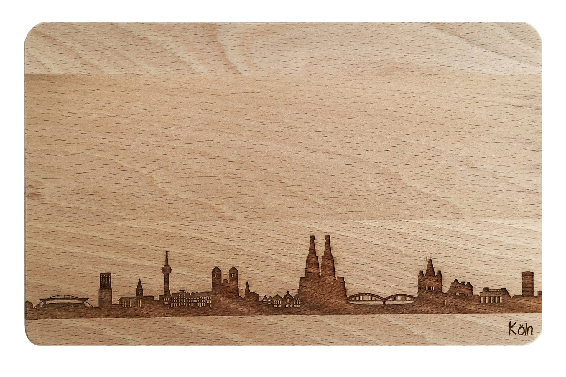 Brotzeitbrett Skyline Köln