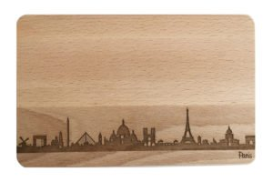 Brotzeitbrett Skyline Paris