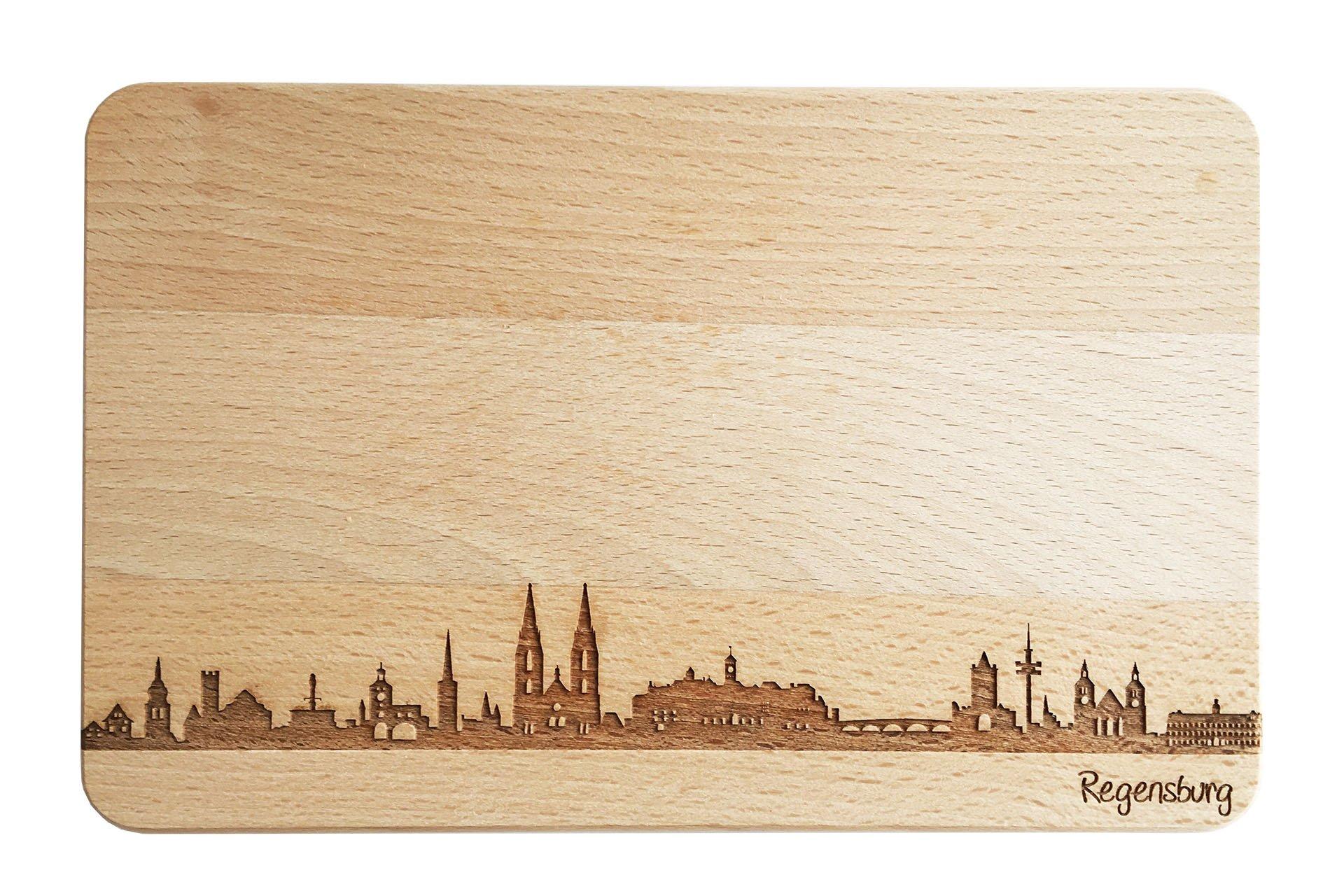 Brotzeitbrett Skyline Regensburg
