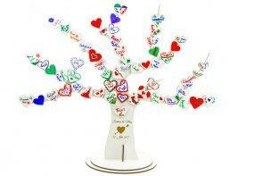Gästebaum für Hochzeit und Feiern