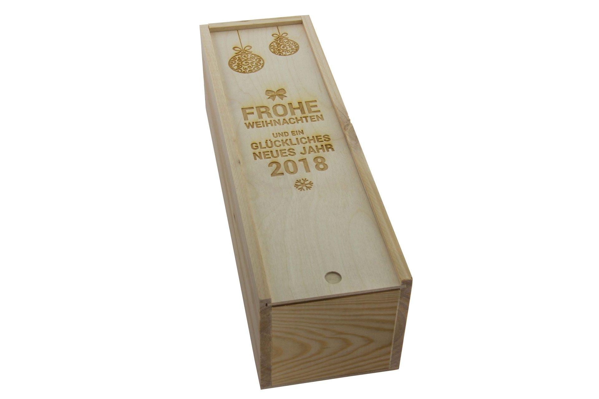 Weinflaschen Box aus Holz mit persönlicher GravurSNEG | Schnell-Noch ...