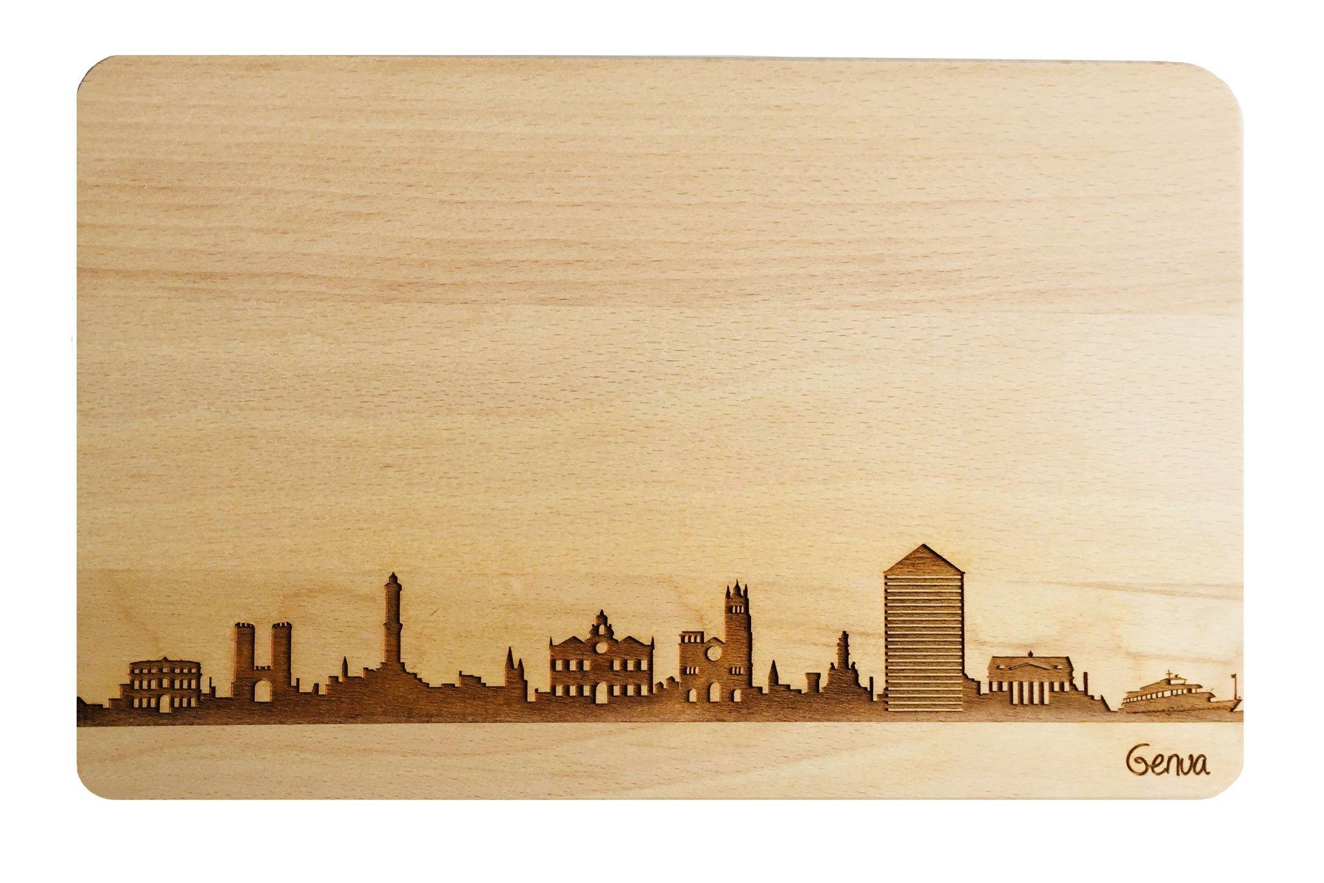 Brotzeitbrett Skyline Genua